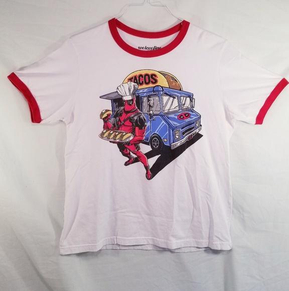 c052028f7 Marvel Shirts   Deadpool Taco Truck Shirt Sizexl   Poshmark